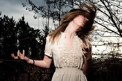 Mädchen in Rage - p1116m1217088 von Ilka Kramer
