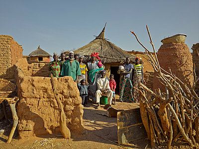 Burkina Faso - p390m813069 von Frank Herfort