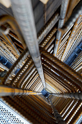 Reinforcing bars - p1099m882678 by Sabine Vielmo