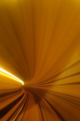 Subway tunnel - p470m934133 by Ingrid Michel