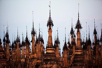 Kakku Pagoda Complex, Shan State, Myanmar , Asia - p871m1180883 by Colin Brynn