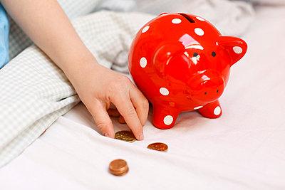 Geld sammeln - p2490743 von Ute Mans