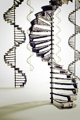 Spiral staircase - p3940229 by Stephen Webster