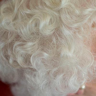 White hair of a senior woman - p8960191 by Sake Elzinga