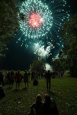 Flammende Sterne - p335m1087286 von Andreas Körner