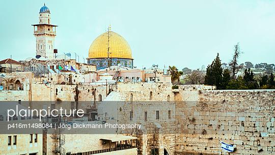 Jerusalem - p416m1498084 von Jörg Dickmann Photography