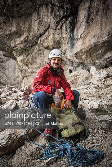 Bergsteiger - p741m2071294 von Christof Mattes