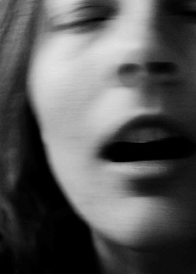 Female face, blurred view - p1229m2231780 by noa-mar