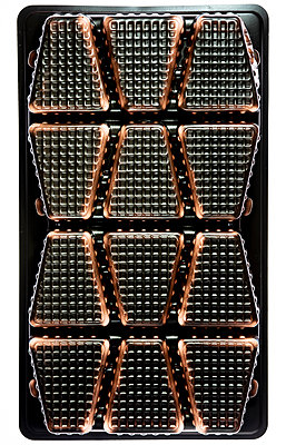 Empty chocolate packaging - p401m2172896 by Frank Baquet