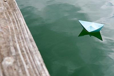 Paper boat - p4510267 by Anja Weber-Decker