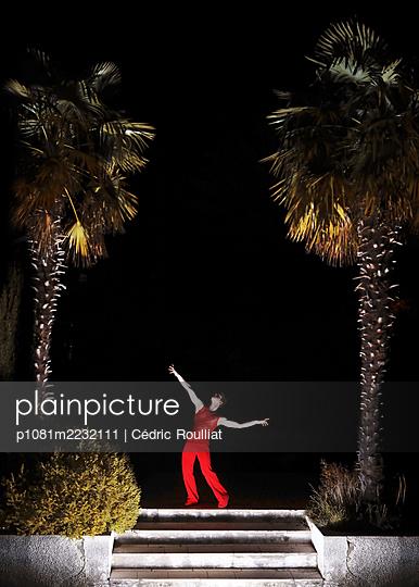 Tänzer in der Nacht - p1081m2232111 von Cédric Roulliat