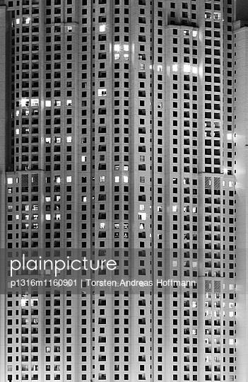 Wolkenkratzer, Dubai Marina, Dubai, Vereinigte Arabische Emirates - p1316m1160901 von Torsten Andreas Hoffmann