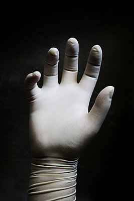 Rubber glove - p450m1161327 by Hanka Steidle