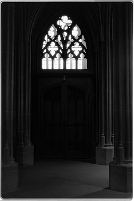 Door in the Cathedral of Berne - p1580m2191513 by Andrea Christofi