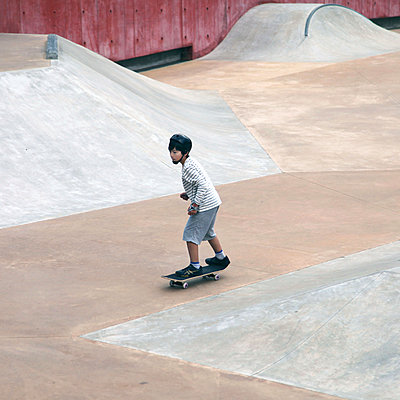 Little Skater - p664m1068442 by Yom Lam