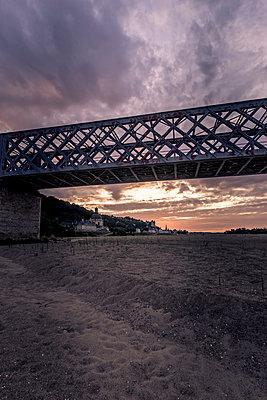 The Saumur Railway Bridge - p1402m2110566 by Jerome Paressant