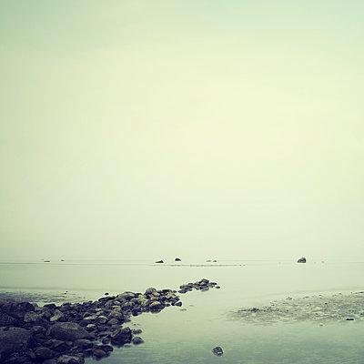 Nebel am Meer - p992m1017326 von Carmen Spitznagel