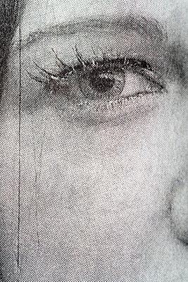 Newspaper, Eye - p265m2071275 by Oote Boe