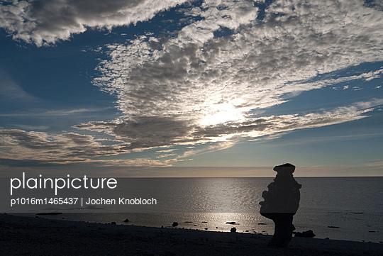 Steinfigur auf Gotland - p1016m1465437 von Jochen Knobloch