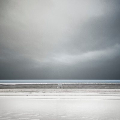 Winter am Meer - p1137m940632 von Yann Grancher