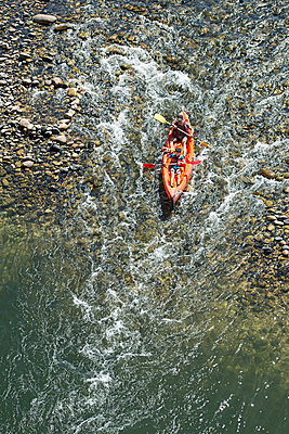 Whitewater kayaking - p1292m1169366 by Niels Schubert