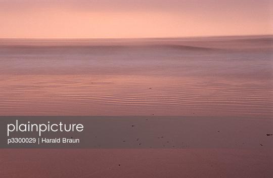 Rötliches Meer in Neuengland - p3300029 von Harald Braun