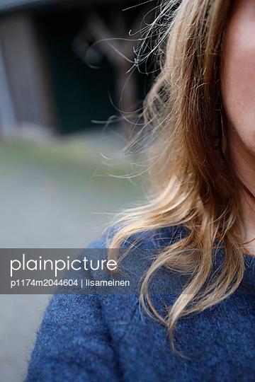 Blonde Frau - p1174m2044604 von lisameinen