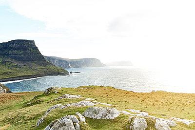 Küste, Schottland - p587m1104243 von Spitta + Hellwig
