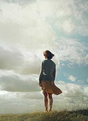 Alone on the hillside - p984m1286455 by Mark Owen