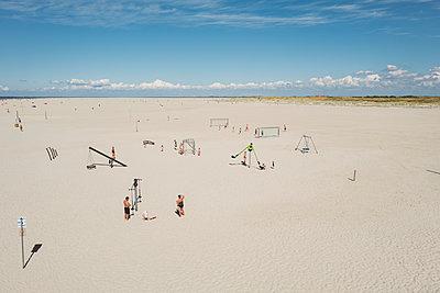 Strand in St. Peter-Ording - p432m2205629 von mia takahara