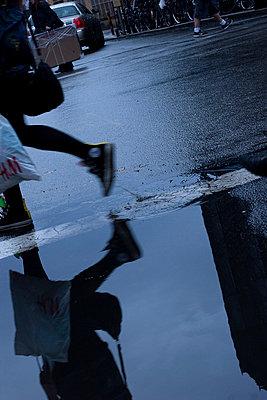 Regenwetter in Brooklyn - p9792744 von Gellert photography