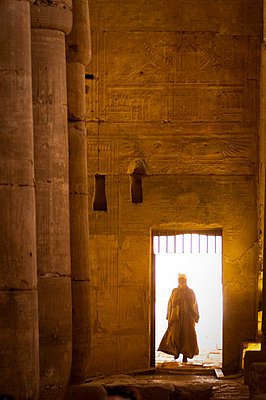 Interior of the Temple of Seti I, Abydos, Egypt, North Africa, Africa - p8712517 by Michael Snell