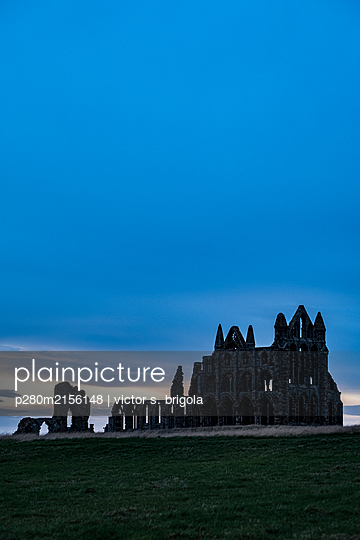 Whitby Abbey - p280m2156148 by victor s. brigola