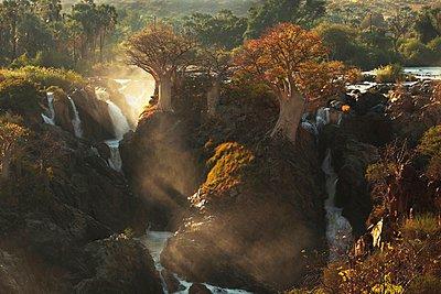 Angola, Epupafälle - p1172m955332 von Frank Tusch