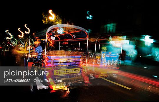tuktuk,bangkok - p378m2086082 by Olivia Rutherford