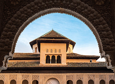 Spain, Granada, Alhambra palace  - p1332m2205602 by Tamboly