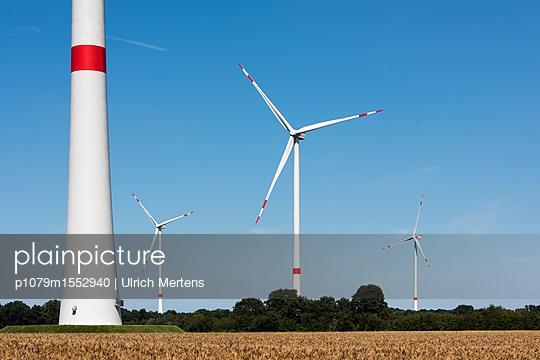 Windpark Hollich-Sellen - p1079m1552940 von Ulrich Mertens