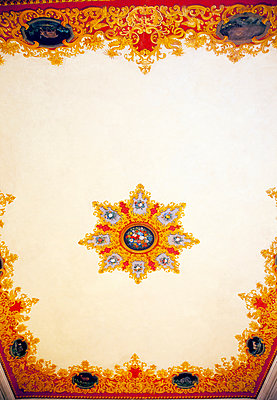Ceiling painting in Pistoia - p382m2021710 by Anna Matzen
