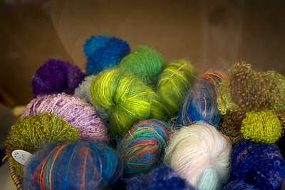 Colorful wool - p4427266f by Design Pics