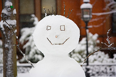 Snowman - p4342176f by Perfect Pictures