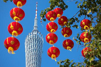 Canton Tower, Tianhe, Guangzhou, Guangdong, China - p651m2006478 by Ian Trower
