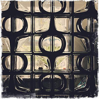Glass blocks - p427m1466658 by Ralf Mohr