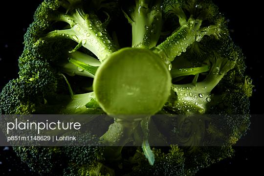 Brokkoli Nahaufnahme - p851m1148629 von Lohfink