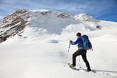 Schneeschuhwandern - p1272m1083347 von Steffen Scheyhing