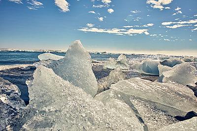 Gletschereis auf Island - p1305m1190730 von Hammerbacher
