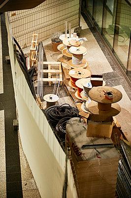 Building site Shopping mall - p1203m1028539 by Bernd Schumacher