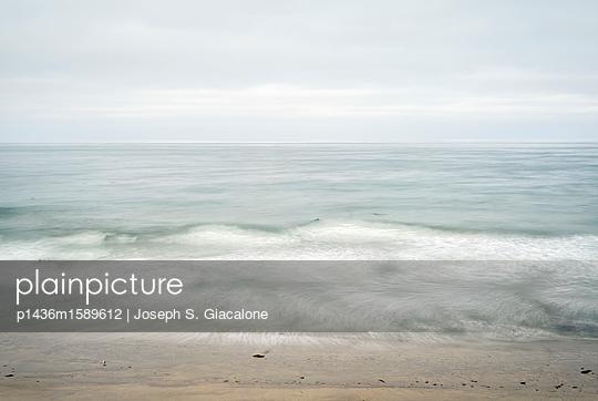 Encinitas, Swami's Beach - p1436m1589612 von Joseph S. Giacalone