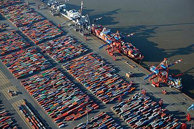Containerterminal - p1016m1137531 von Jochen Knobloch