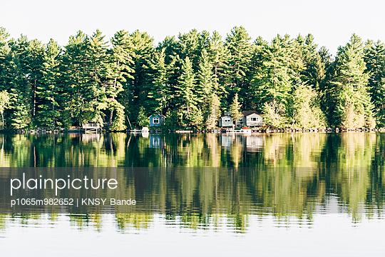 Ferienhäuser am Chandos Lake, Kanada - p1065m982652 von KNSY Bande