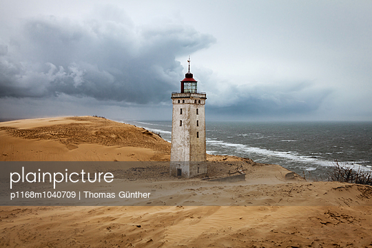 Leuchtturm Rubjerg Knude - p1168m1040709 von Thomas Günther